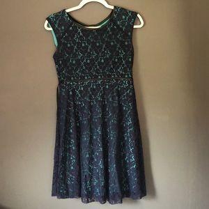 Dresses & Skirts - Girls Navy Dress